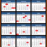 Negeri Sembilan Public Holidays Calendar 2020
