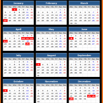 New South Wales Public Holidays Calendar 2020