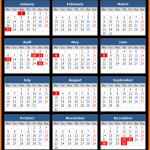 Northern Territory Public Holidays Calendar 2020