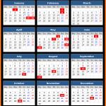 Putrajaya (Malaysia) Public Holidays Calendar 2020