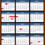 Queensland Public Holidays Calendar 2020
