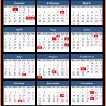 Selangor (Malaysia) Public Holidays Calendar 2020