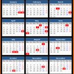 Terengganu (Malaysia) Public Holidays Calendar 2020