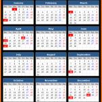 Western Australia Public Holidays Calendar 2020