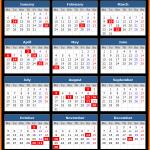 Gujarat Public Holidays Calendar 2020