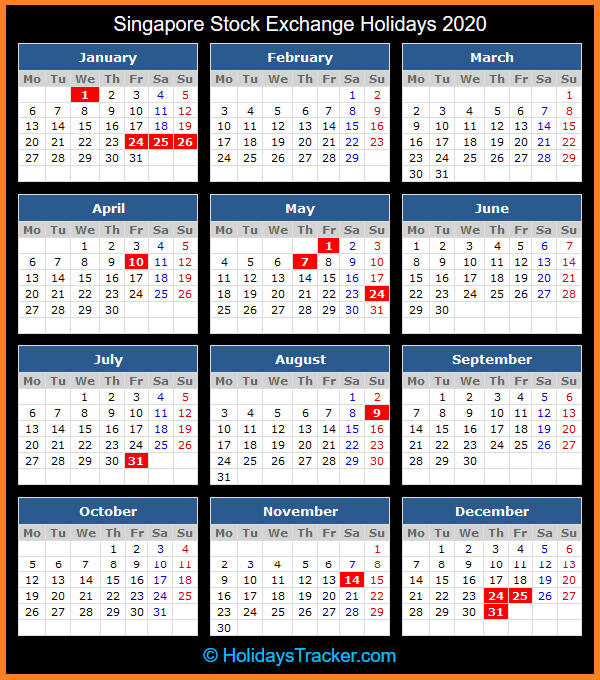 forex trading singapore legal holidays