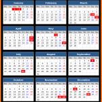 Bank of Albania Holidays Calendar 2020