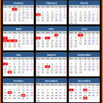 Bank of Thailand Holidays Calendar 2020