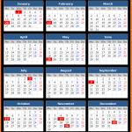 Federal Reserve Bank Holidays Calendar 2020