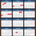 National Bank of Serbia Holidays Calendar 2020
