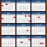 Poland Holiday Calendar 2020
