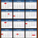 Royal Bank of Canada Holidays Calendar 2020