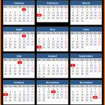 Alberta Holiday Calendar 2021