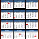 Canada Public Holidays Calendar 2021