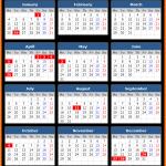 Queensland Public Holiday Calendar 2021