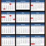 Tasmania Public Holiday Calendar 2021