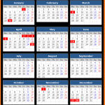 Victoria Public Holiday Calendar 2021