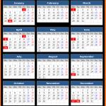 Western Australia Public Holiday Calendar 2021