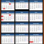 Australia Public Holiday Calendar 2021