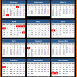 New South Wales Public Holiday Calendar 2021