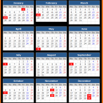 US Public Holiday Calendar 2021