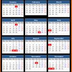 Printable Bermuda Stock Exchange Public Holiday Calendar 2021