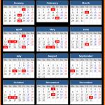 Printable Colombo Stock Exchange Holiday Calendar 2021
