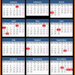 Printable South African Public Holiday Calendar 2021