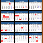 Stock Exchange of Thailand Holiday Calendar 2021