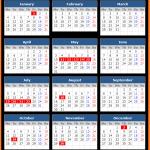 UAE Public Holiday Calendar 2021
